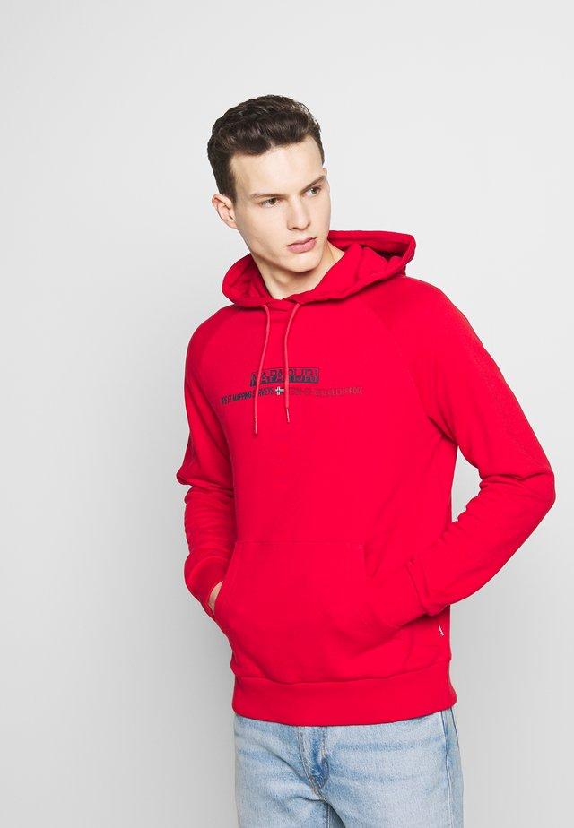 BASTIA  - Jersey con capucha - bright red