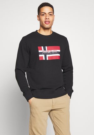 BOVICO CREW NECK - Collegepaita - black