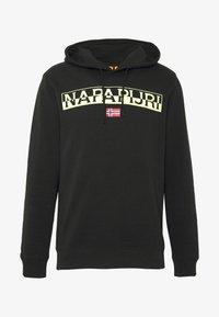 Napapijri - BARAS HOODIE  - Bluza z kapturem - black - 3