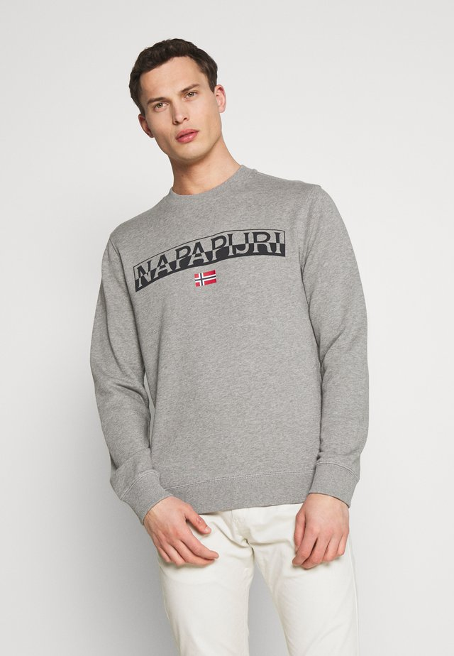 BARAS CREW NECK - Sweater - mottled grey