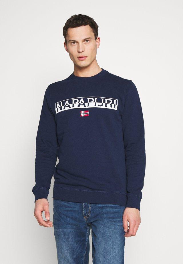 BARAS CREW NECK - Sweater - medieval blue