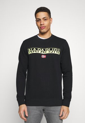 BARAS CREW NECK - Collegepaita - black