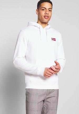 BITO HOODIE - Bluza z kapturem - bright white