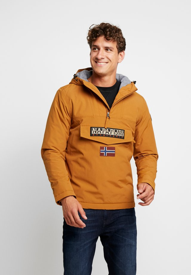 RAINFOREST WINTER - Windbreaker - golden brown