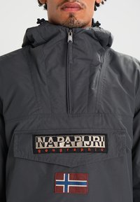 Napapijri - RAINFOREST WINTER - Windbreaker - dark grey solid - 3