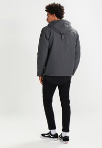 Napapijri - RAINFOREST WINTER - Windbreaker - dark grey solid - 2