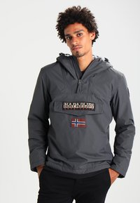 Napapijri - RAINFOREST WINTER - Windbreaker - dark grey solid - 0