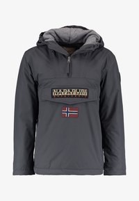 Napapijri - RAINFOREST WINTER - Windbreaker - dark grey solid - 4