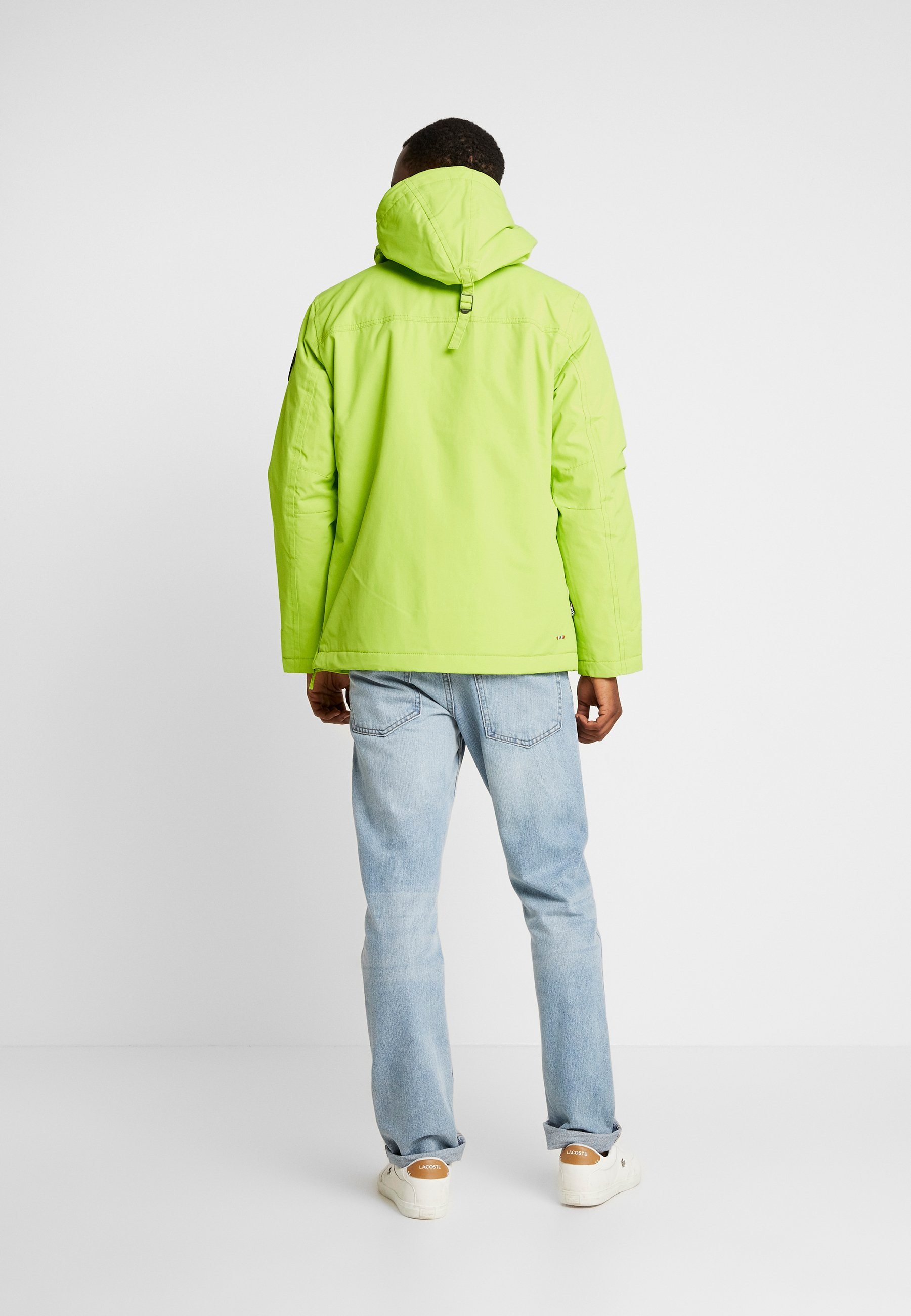 Yellow Rainforest Coupe Lime vent Napapijri WinterVeste zSMGVpqU