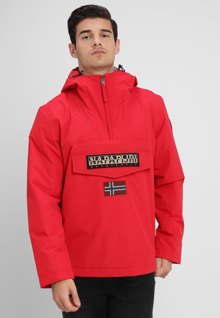 Napapijri - RAINFOREST WINTER - Windbreakers - pop red