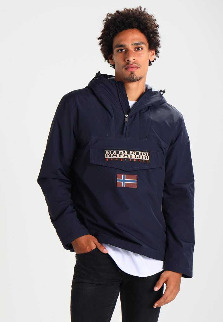 Napapijri - RAINFOREST WINTER - Windbreakers - blu marine