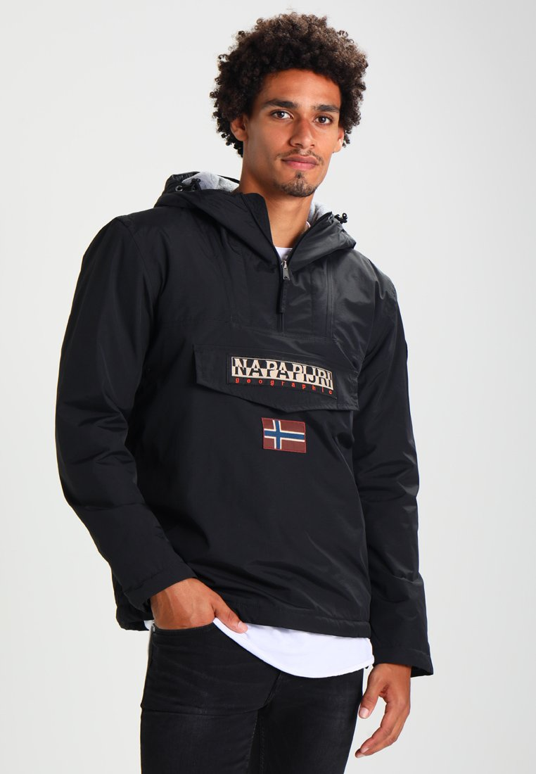 Napapijri - RAINFOREST WINTER - Windbreakers - black