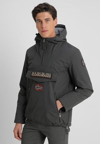 Napapijri - RAINFOREST POCKET  - Chaqueta de invierno - dark grey solid - 0