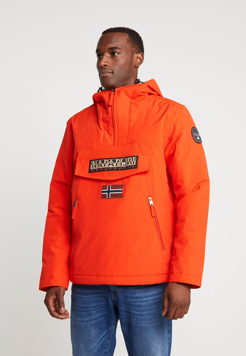 Napapijri - RAINFOREST POCKET - Chaqueta fina - orangeade
