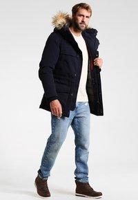 Napapijri - SKIDOO OPEN LONG - Zimní kabát - blu marine - 1
