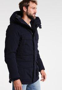 Napapijri - SKIDOO OPEN LONG - Zimní kabát - blu marine - 3
