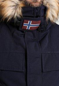 Napapijri - SKIDOO OPEN LONG - Zimní kabát - blu marine - 4