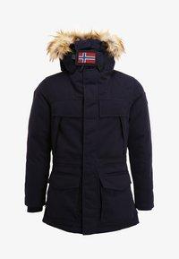 Napapijri - SKIDOO OPEN LONG - Zimní kabát - blu marine - 6