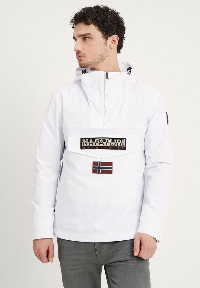RAINFOREST SUMMER - Windbreaker - bright white
