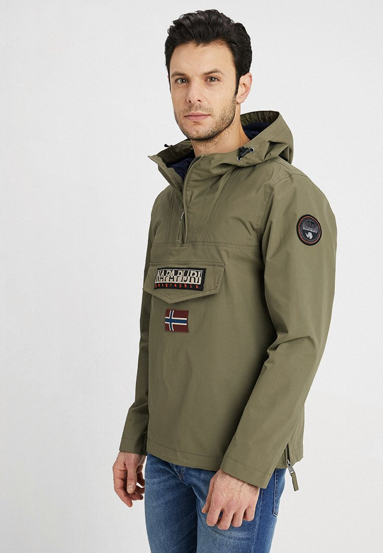 Napapijri - RAINFOREST - Windbreaker - new olive green