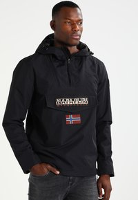 Napapijri - RAINFOREST SUMMER - Windbreaker - black - 0