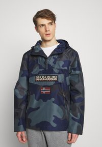 Napapijri - RAINFOREST SUMMER PRINT  - Windjack - black - 0
