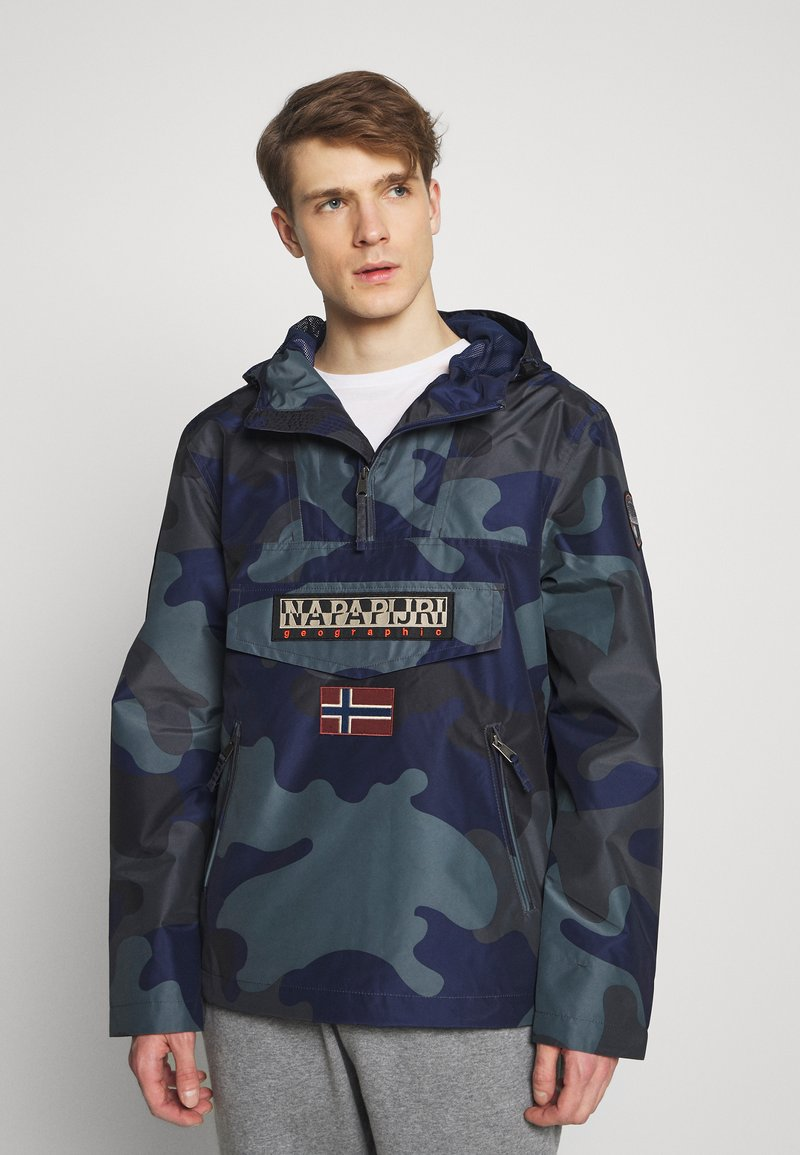 Napapijri - RAINFOREST SUMMER PRINT  - Windjack - black