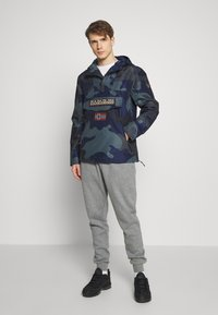 Napapijri - RAINFOREST SUMMER PRINT  - Windjack - black - 1