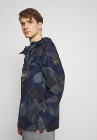 Napapijri - RAINFOREST SUMMER PRINT  - Windjack - black - 4