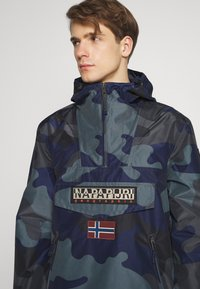 Napapijri - RAINFOREST SUMMER PRINT  - Windjack - black - 6