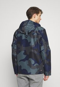 Napapijri - RAINFOREST SUMMER PRINT  - Windjack - black - 2