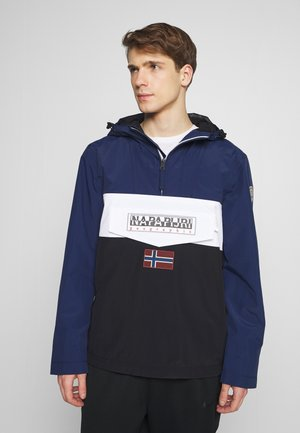 RAINFOREST SUMMER BLOCK - Windbreaker - black