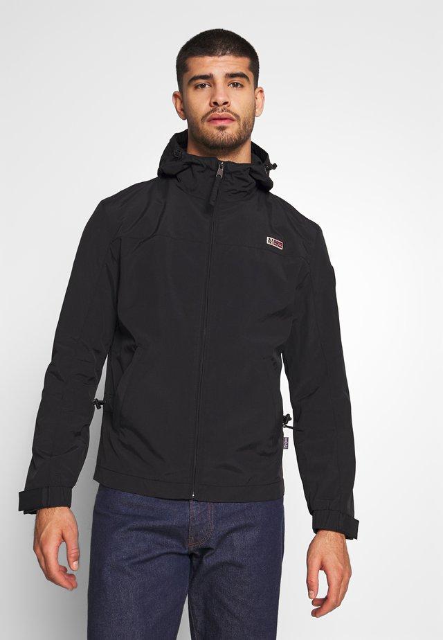 SHELTER H  - Summer jacket - black