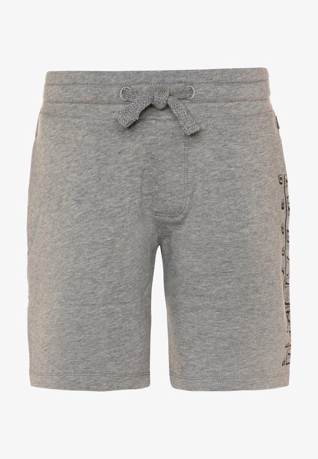 NOLI - Tracksuit bottoms - med grey melange