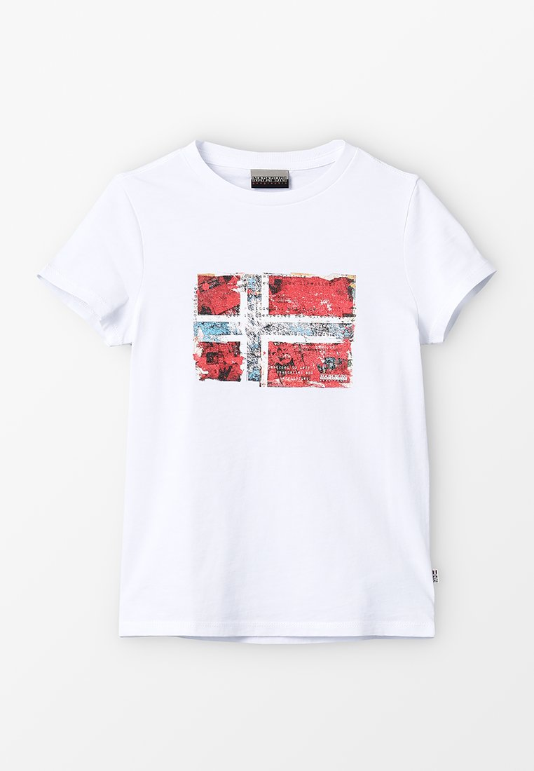 Napapijri - T-shirts print - bright white