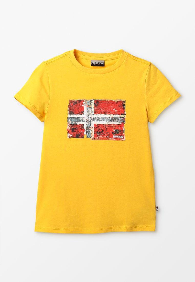 Napapijri - T-shirts print - freesia yellow
