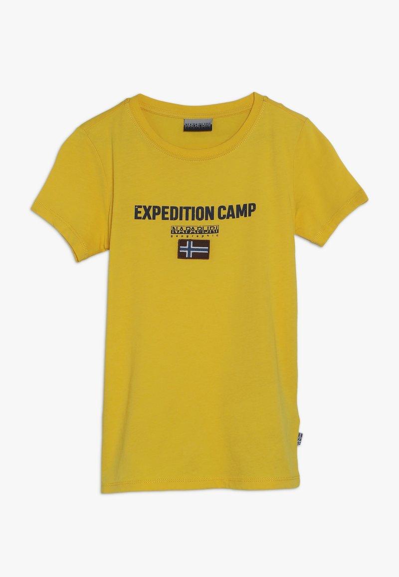 Napapijri - T-Shirt print - yellow