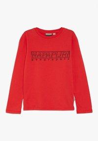 Napapijri - SOLI - Long sleeved top - high risk red - 0