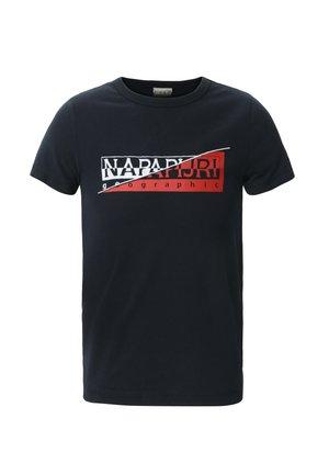 K SAKY - T-shirt med print - blu marine