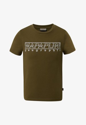 SOLI - T-shirt print - green way