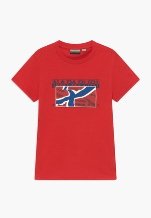 SALLYN - T-shirt med print - bright red