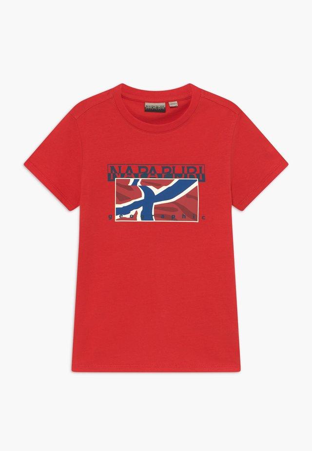 SALLYN - T-Shirt print - bright red
