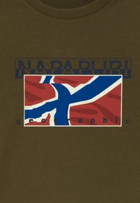 Napapijri - SALLYN - T-Shirt print - green way - 3