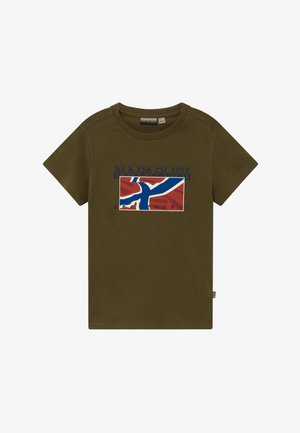 SALLYN - T-shirt print - green way