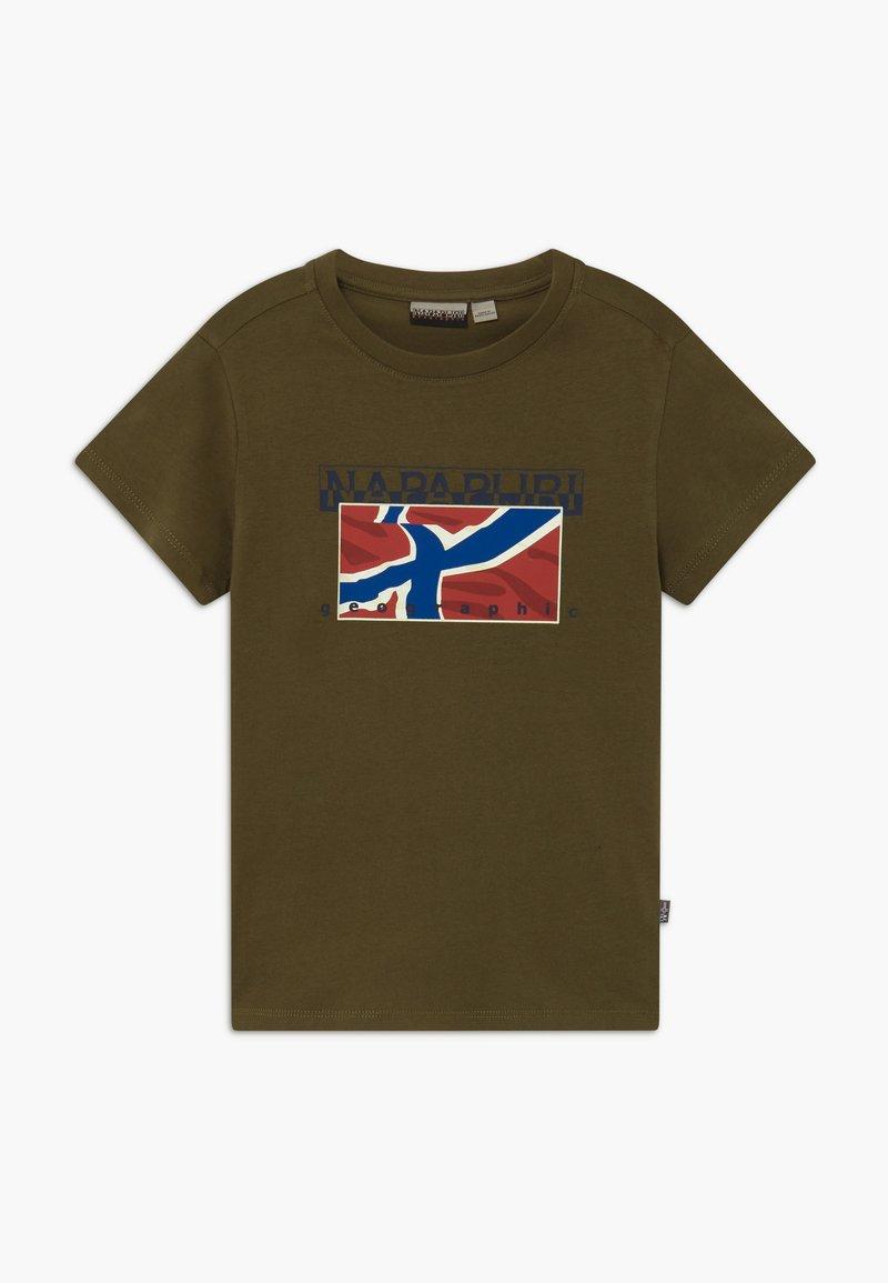 Napapijri - SALLYN - T-Shirt print - green way