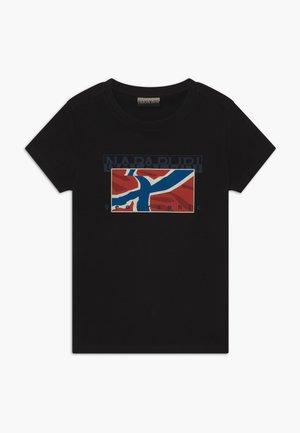 SALLYN - T-shirt con stampa - black