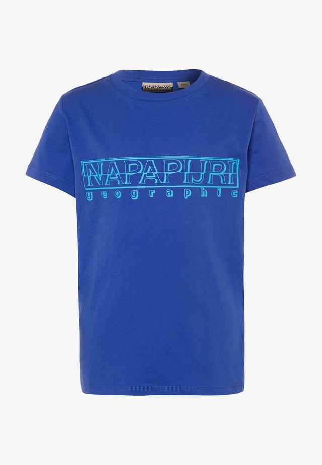 SOLI BRIGHT - Print T-shirt - ultramarine blu