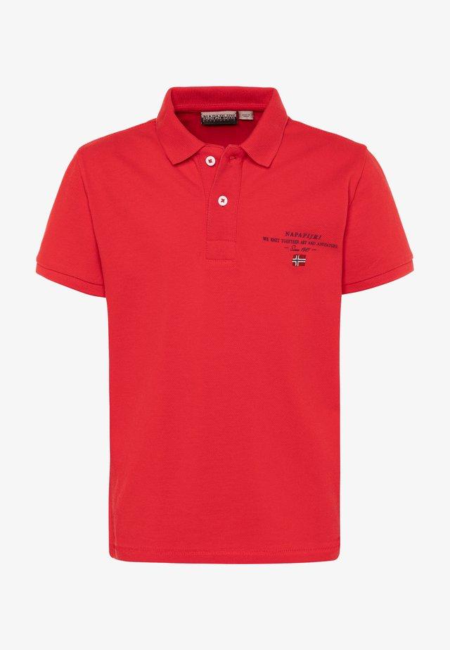 ELBAS - Polo - bright red
