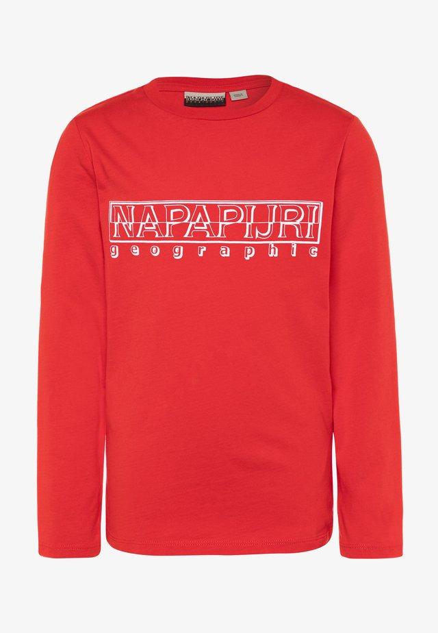 SOLI - Camiseta de manga larga - bright red