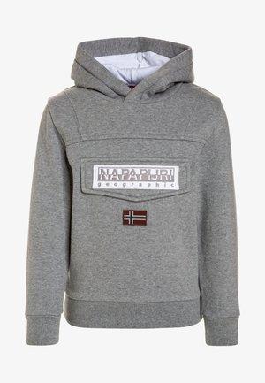 BURGEE - Mikina skapucí - medium grey melange
